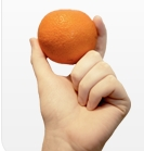 yes, a small orange
