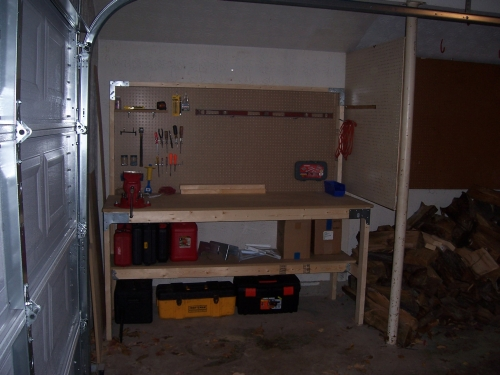 Workbench for left handers